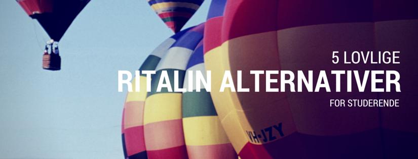 5 (lovlige) alternativer til Ritalin og Modafinil for studerende og erhvervsfolk