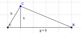 Sådan finder du arealet af en trekant