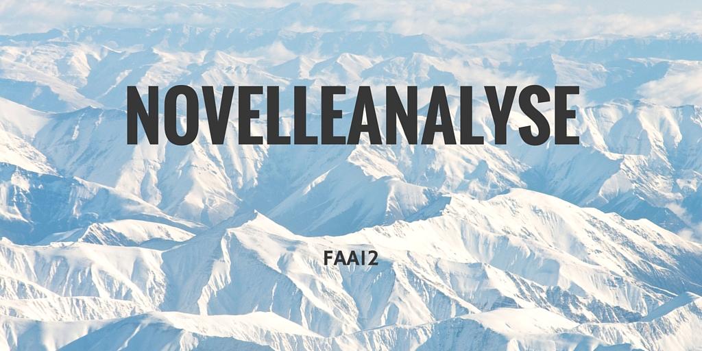 Novelleanalyse